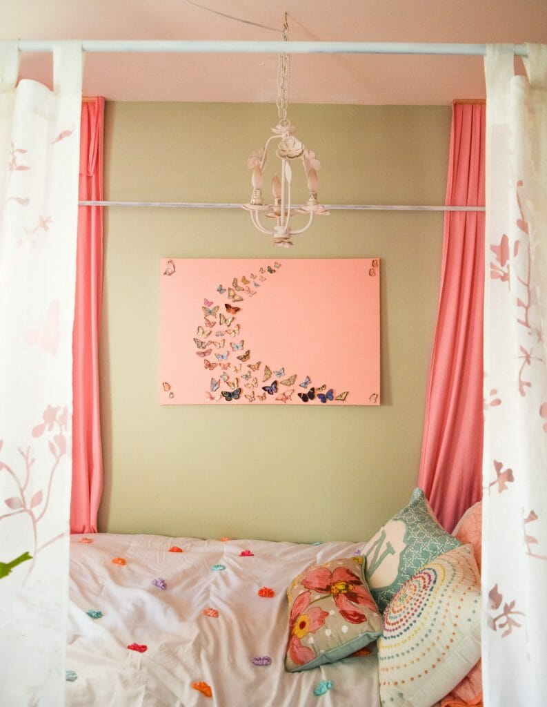 simple updates to create a dream girl bedroom (1 of 1)
