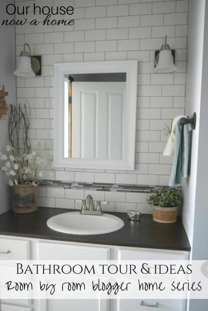 DIY and low cost bathroom updates. 10 living and family room blogger home ideas!