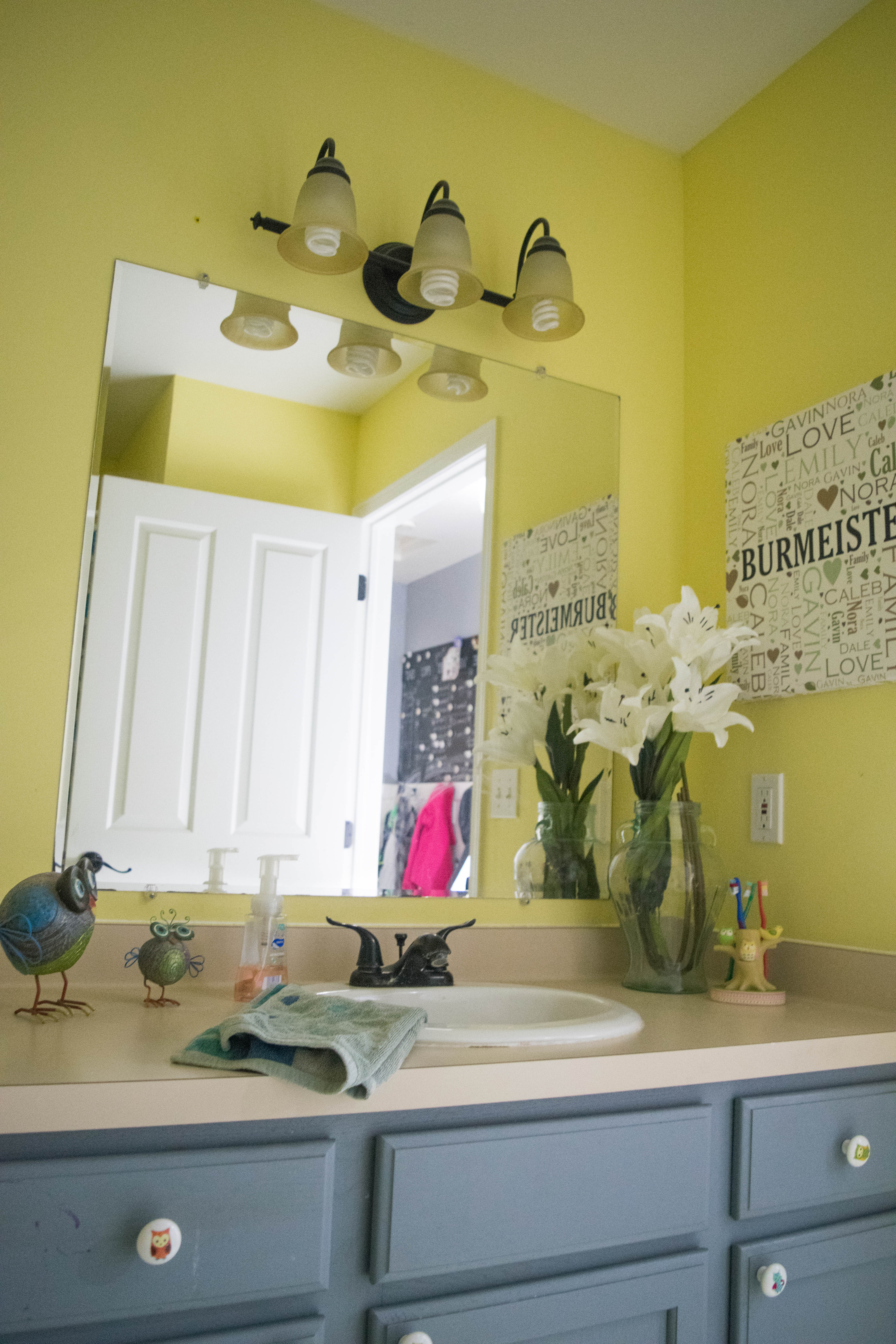 yellow kids bathroom master bathroom amp bathroom tour and ideas room by 15239