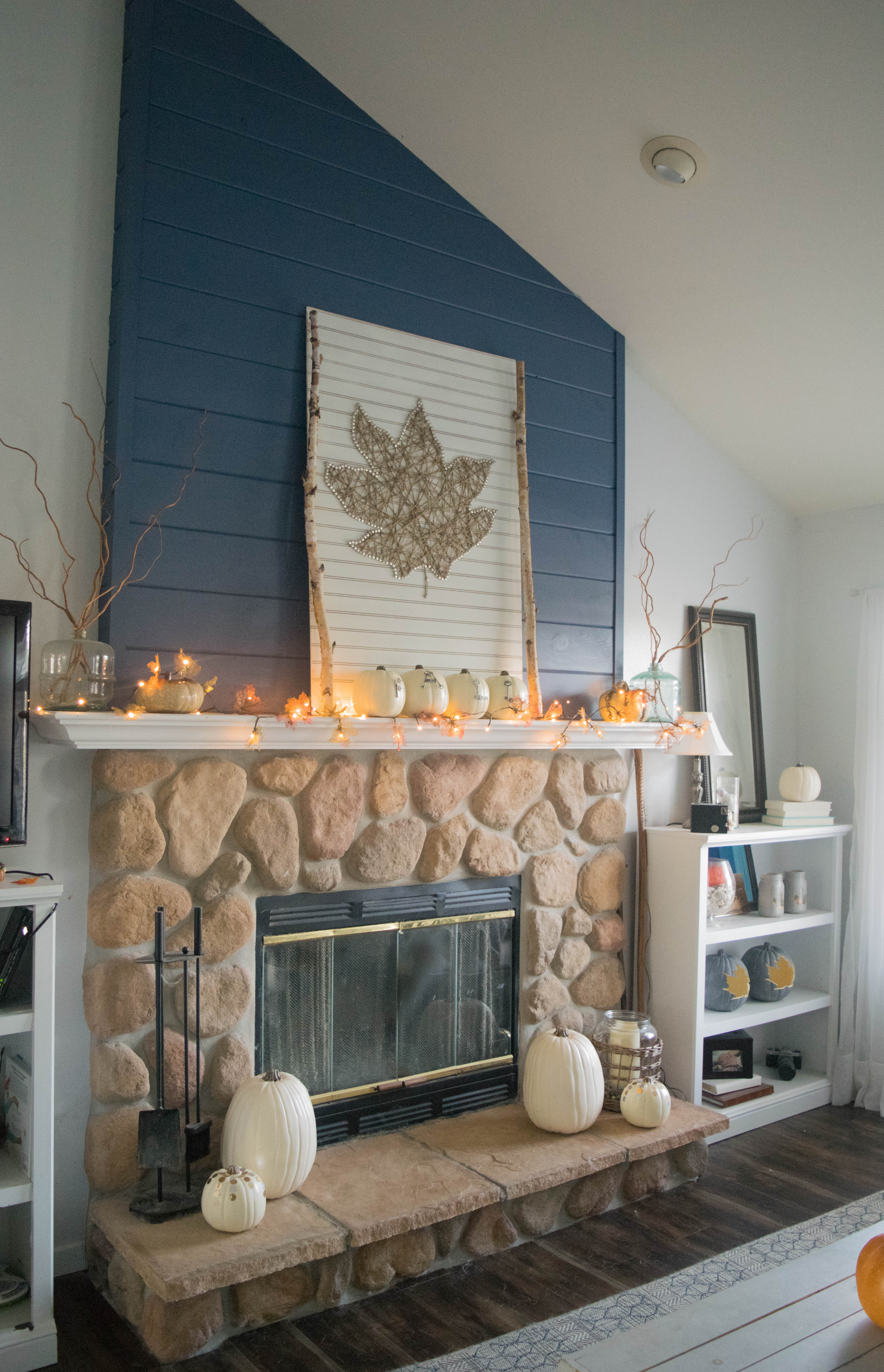 diy fireplace mantel decor ideas 1 of 1 our house now