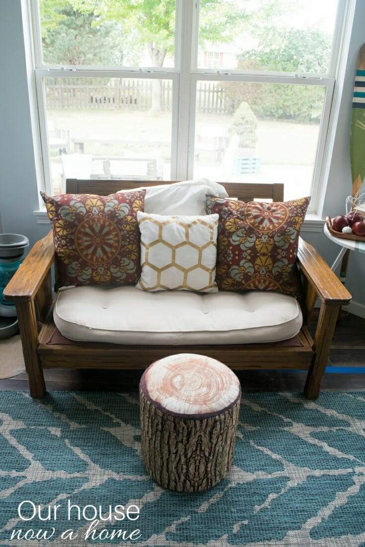 fall home tour simple low cost and easy to make diy projects to decorate a home 13 our. Black Bedroom Furniture Sets. Home Design Ideas