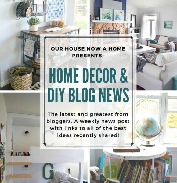 Home decor & DIY blog news, inspiring projects from this week – series #2