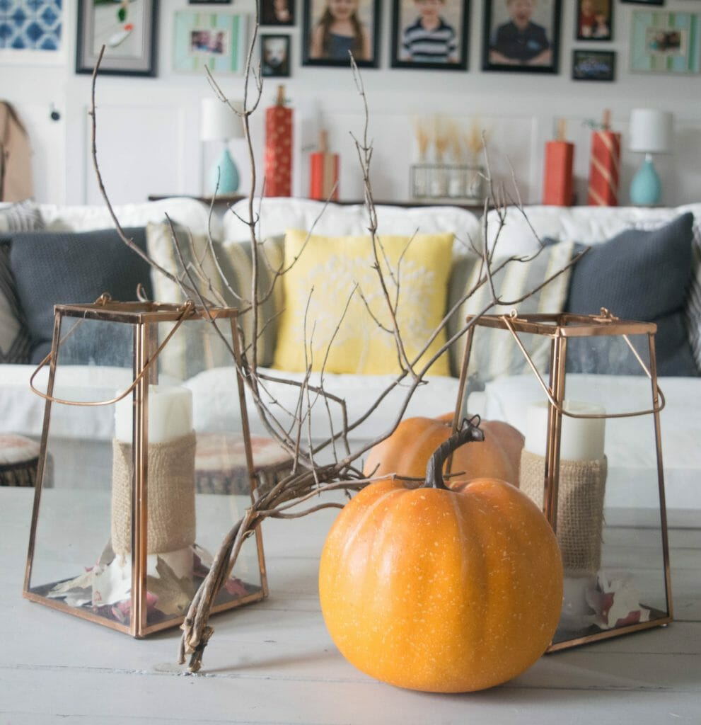 Nature and simple fall decoration ideas