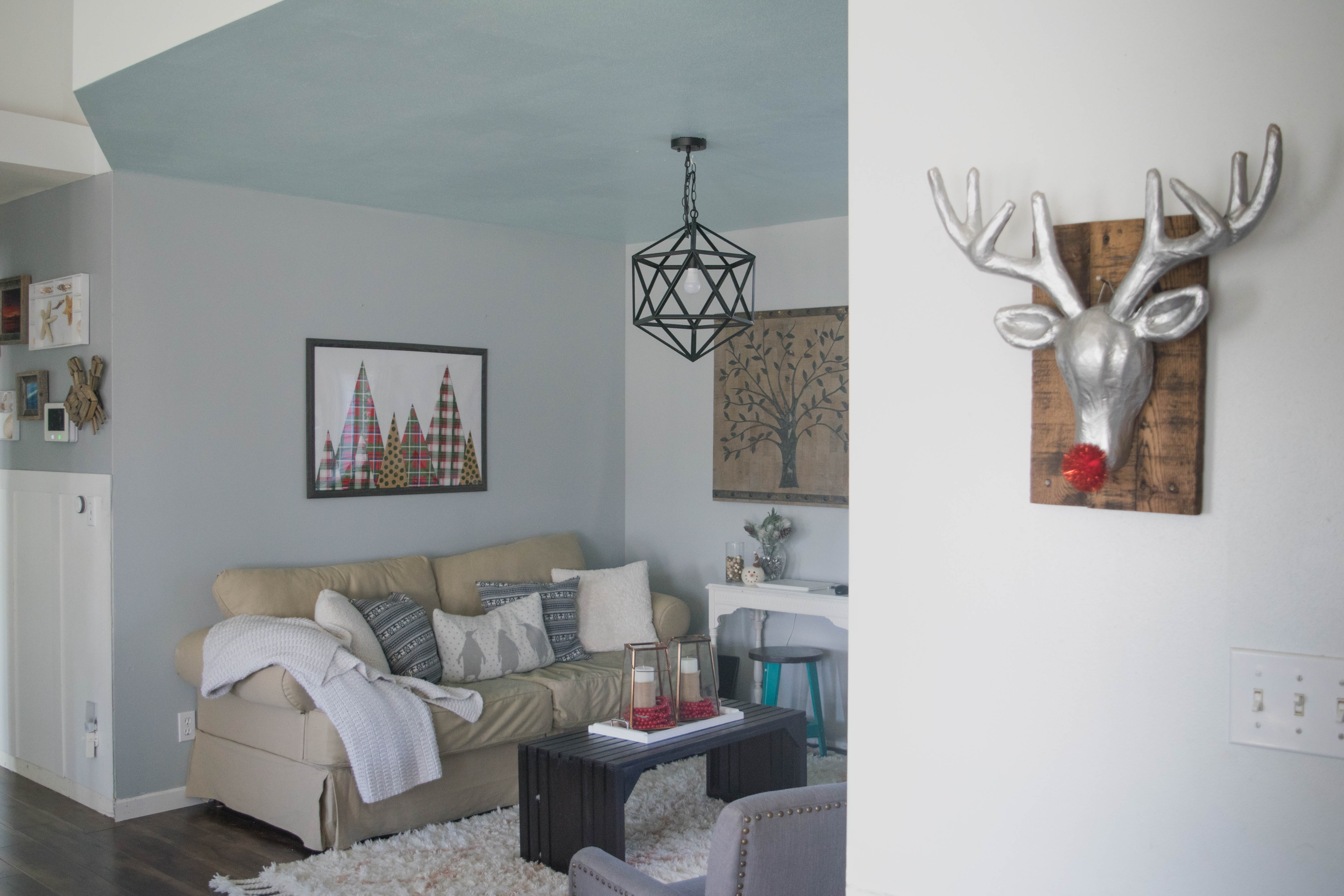 Holiday home tour filled with diy simple low cost for Our home decor