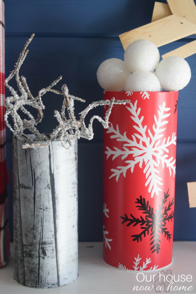 DIY Christmas decor ideas with Our house now a home and Joann fabric. Simple crafts