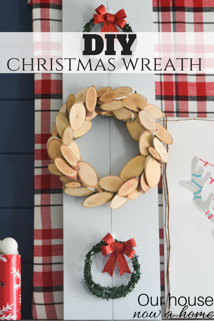 Rustic Christmas Wreath Diy.Diy Christmas Wreath Simple Low Cost And Rustic Holiday