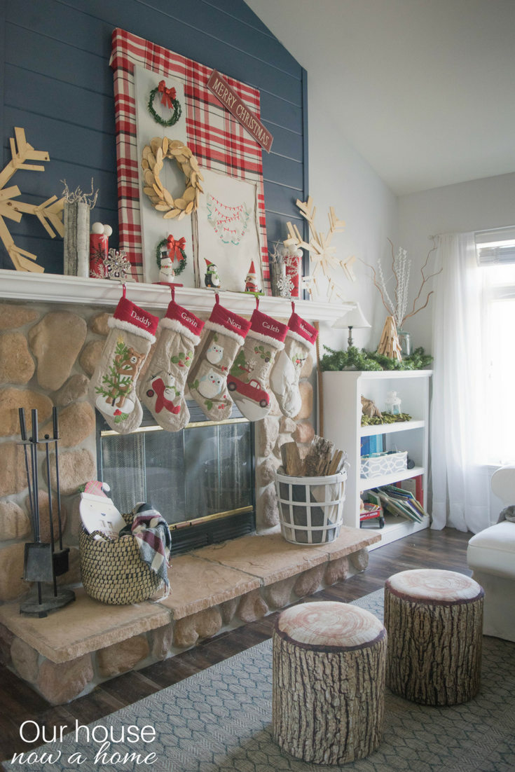 home decor blogger christmas home tour diy rustic low cost whimsical and - Simple Ways To Decorate Your House For Christmas