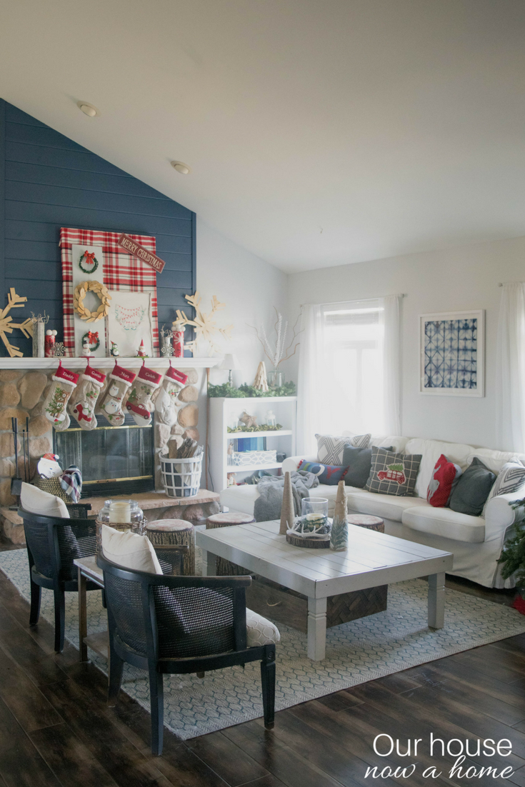 Home Decor Blogger Christmas Tour DIY Rustic Low Cost Whimsical And