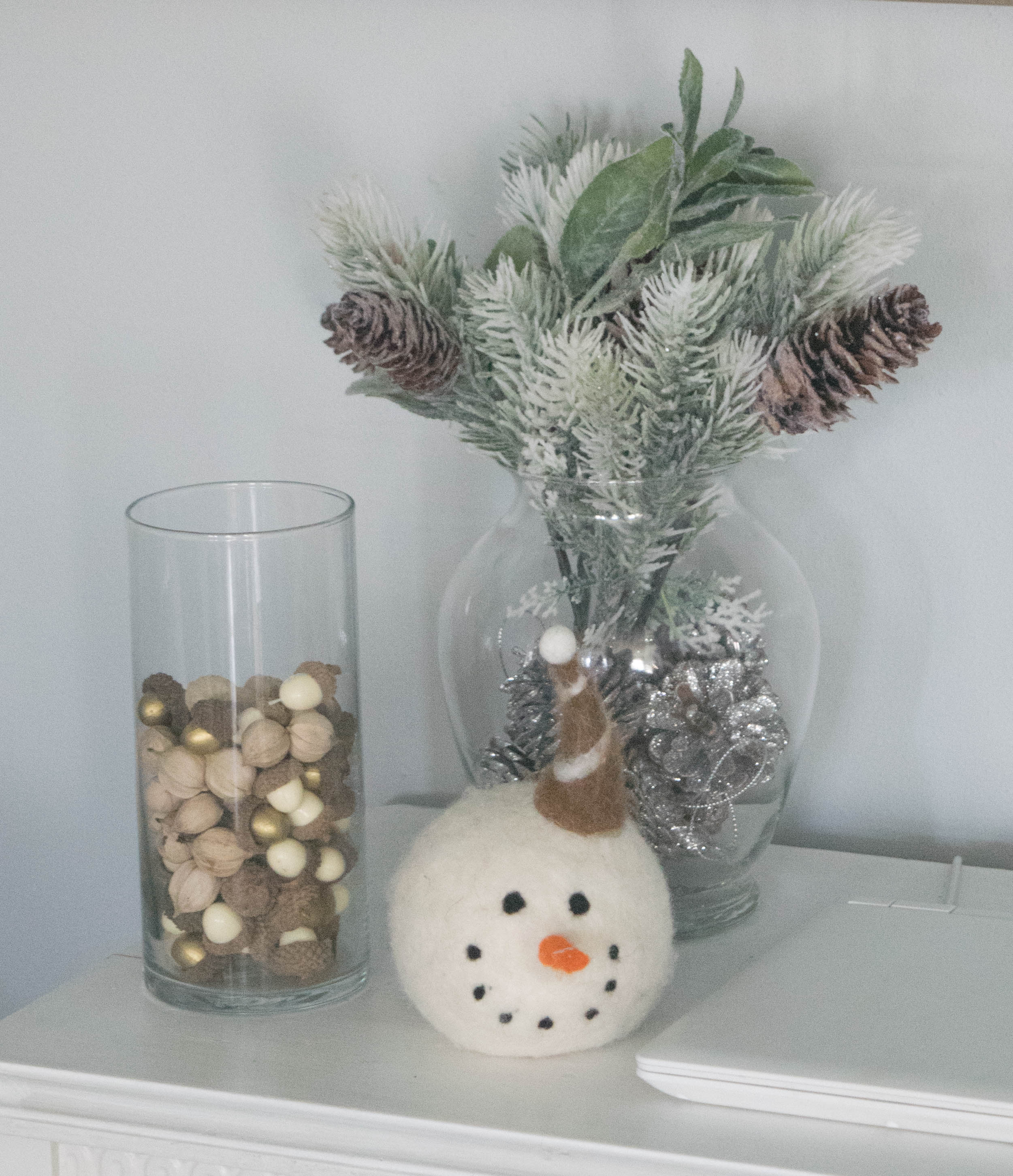 Simple Christmas Decor 1 Of 1 Our House Now A Home