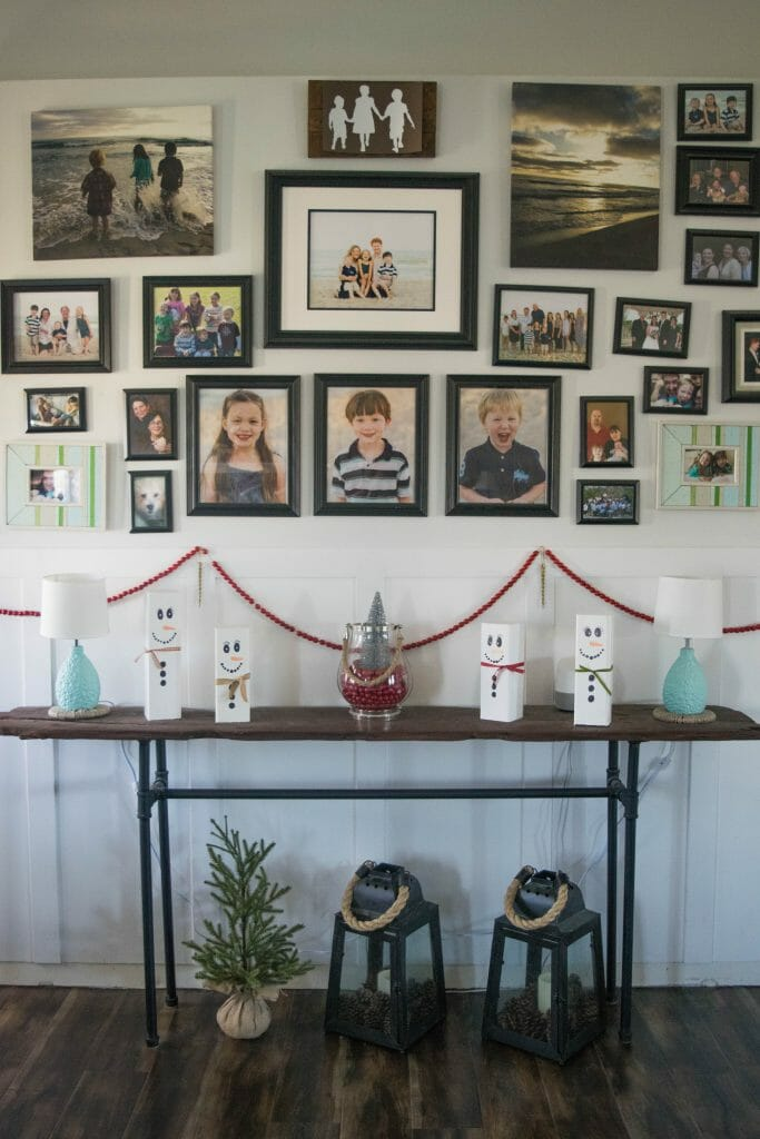 simple holiday decorating