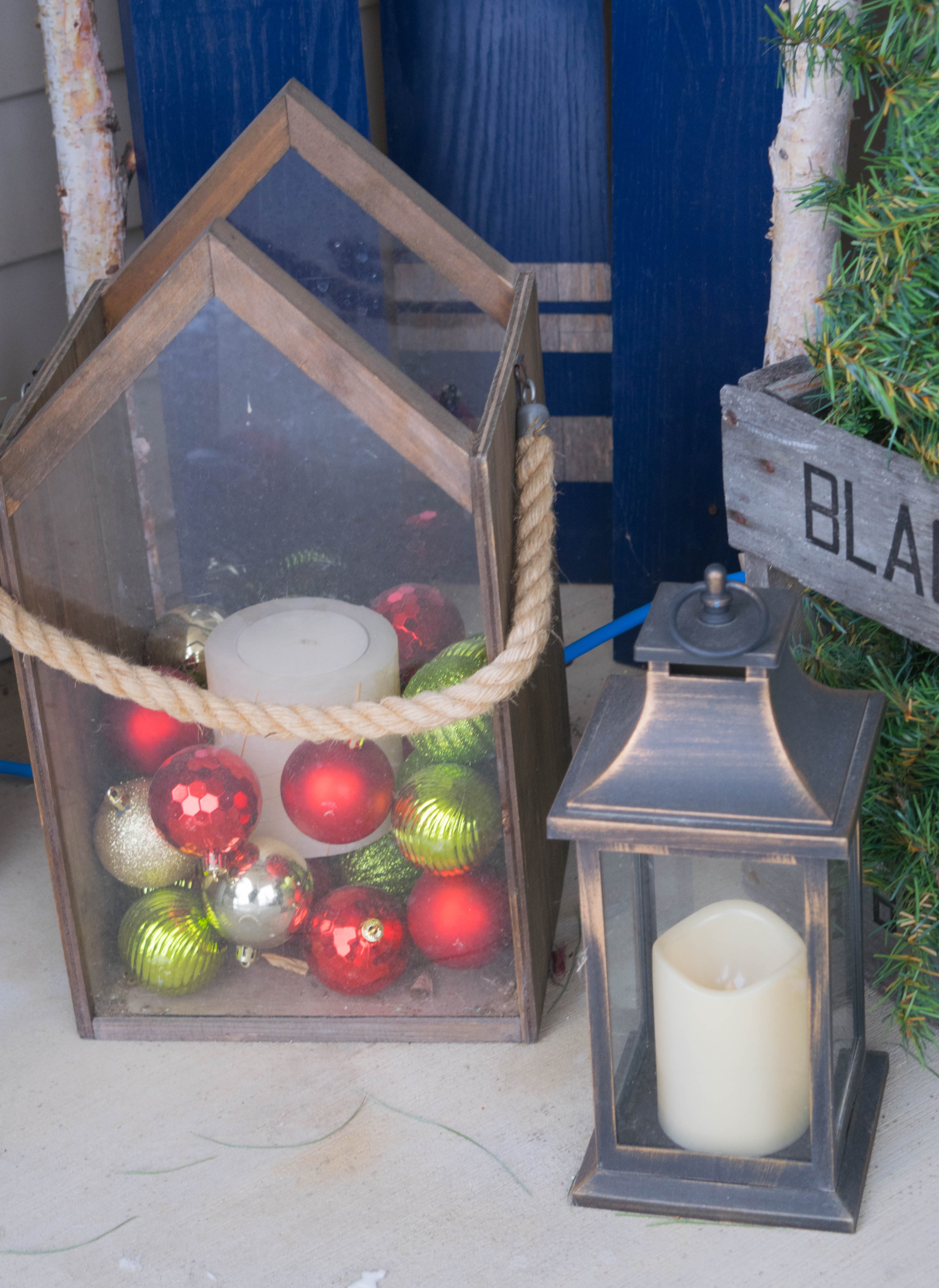 Christmas Front Porch Decorating Ideas Our House Now A Home