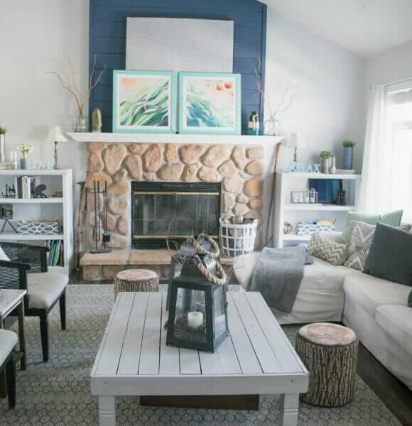 Home tour – filled with DIY, low cost and simple decorating ideas