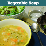 Healthy Chicken, Quinoa and Vegetable Soup