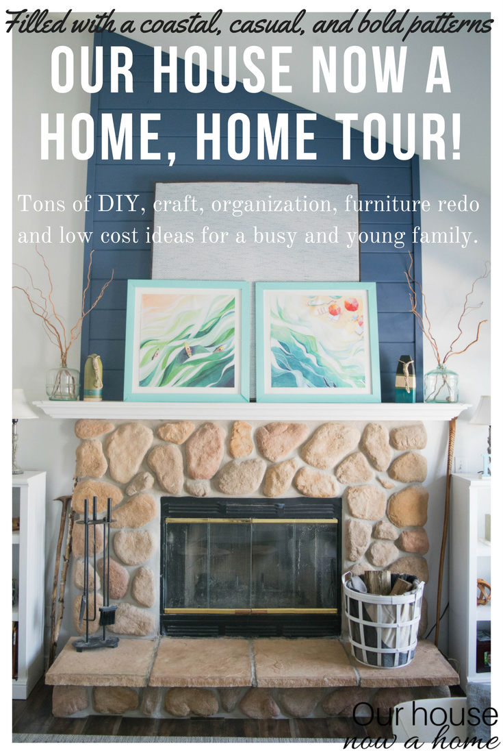 Filled With DIY, Low Cost And Simple Decorating Ideas • Our House Now A Home