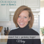 Introducing Mary; where do those recipes come from…