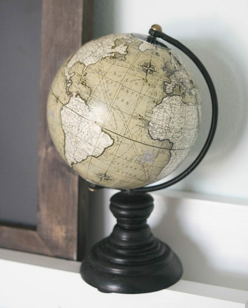 World market globe