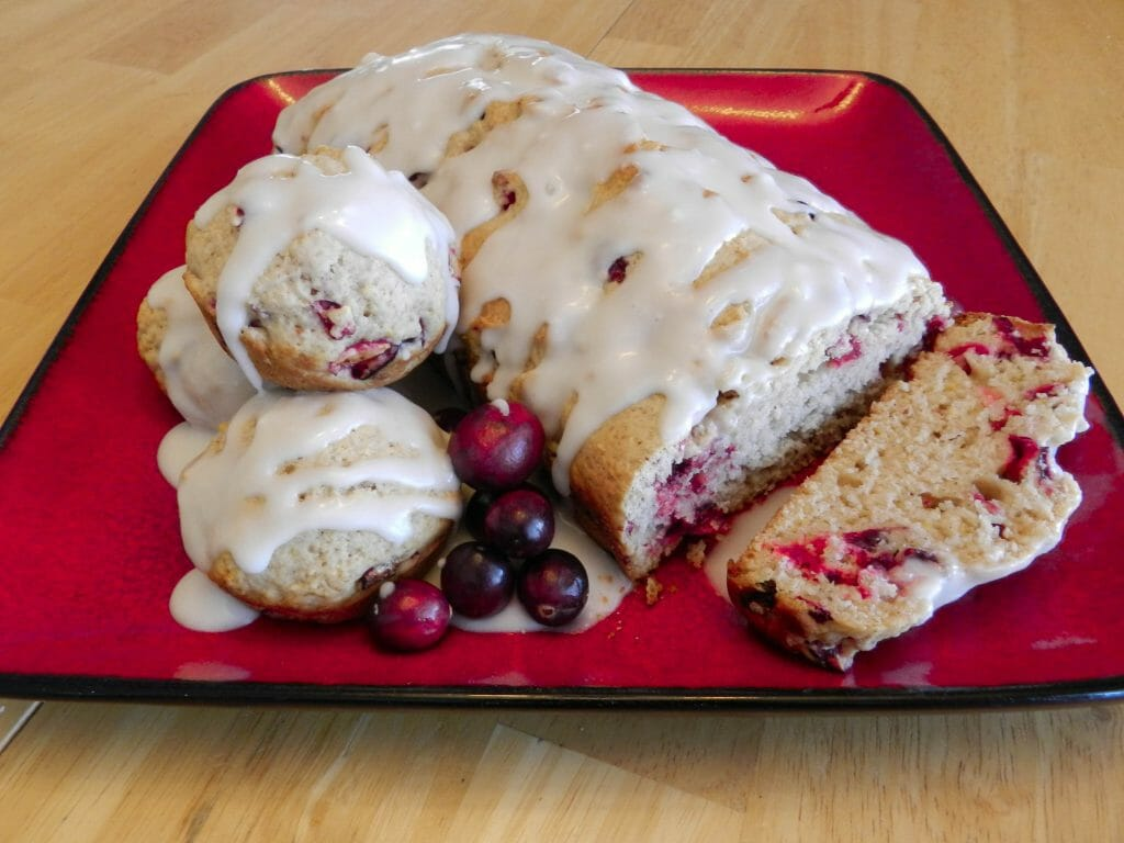 cranberry muffin bread
