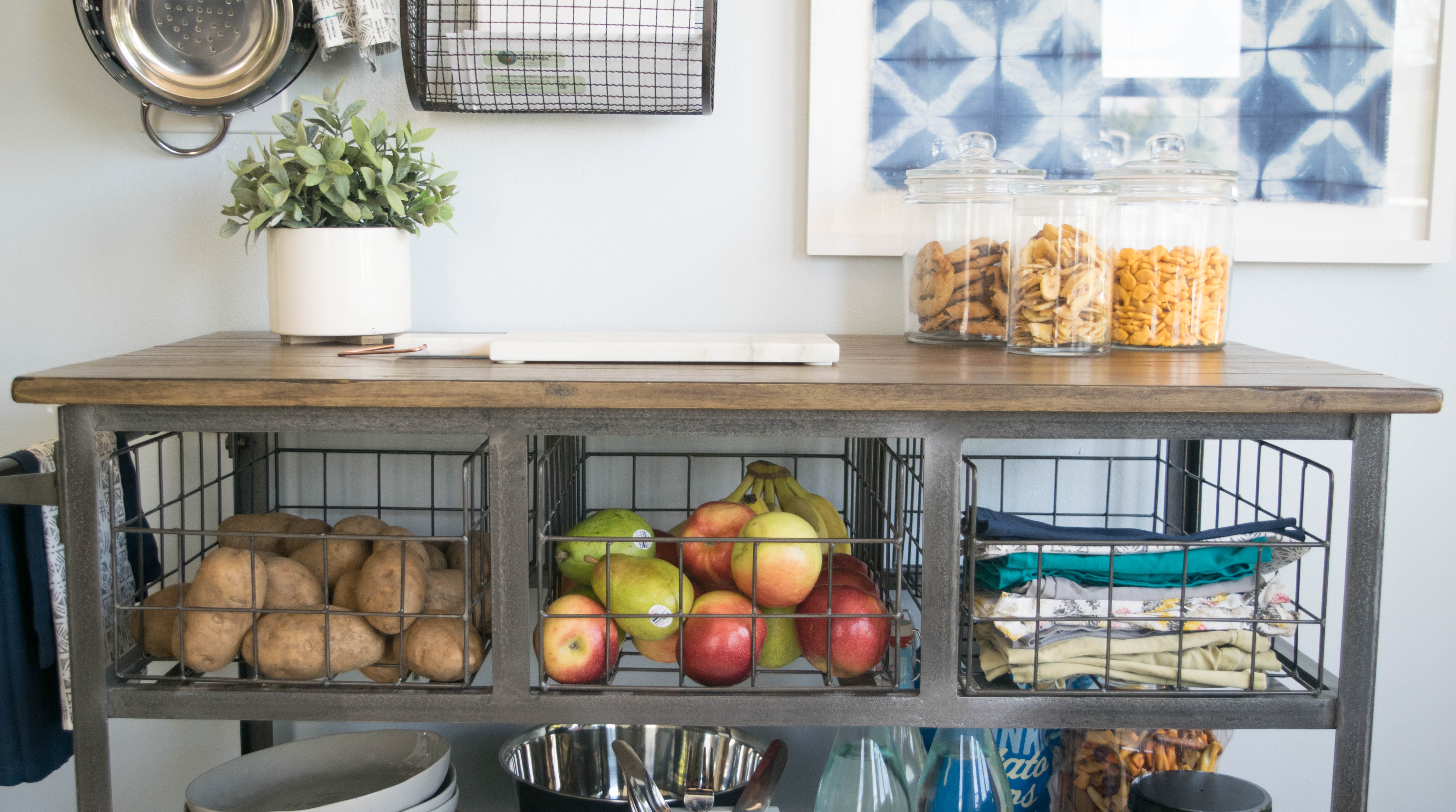 Creative Ways To Store Dishes: Creative Ways To Store Food In Small Kitchen (1 Of 1