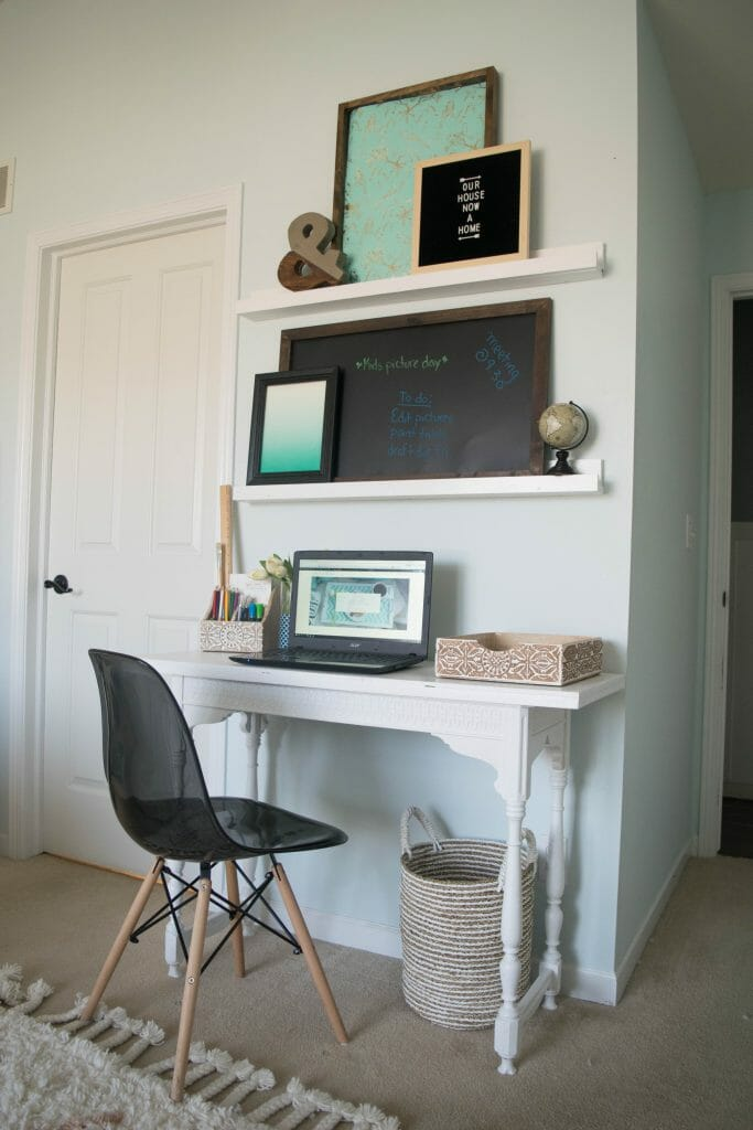 how to have an office in a bedroom
