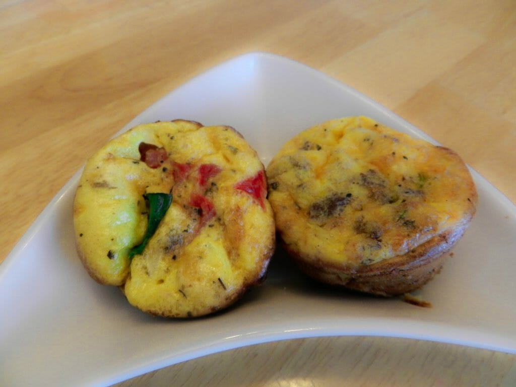low carb easy egg bake recipe