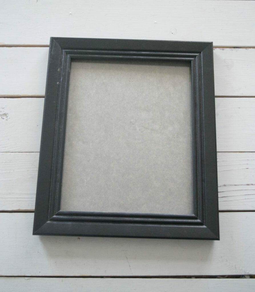 simple picture frame project