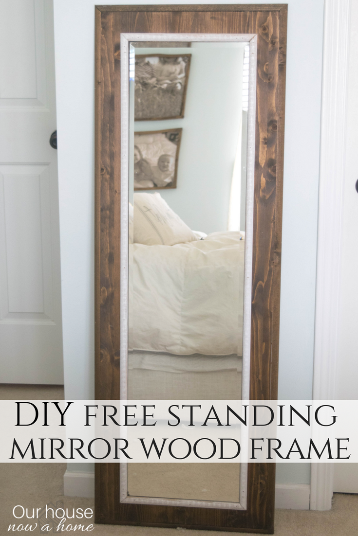 Easy to make DIY mirror frame