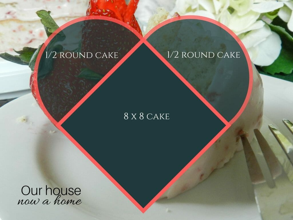 How to make a heart shape cake