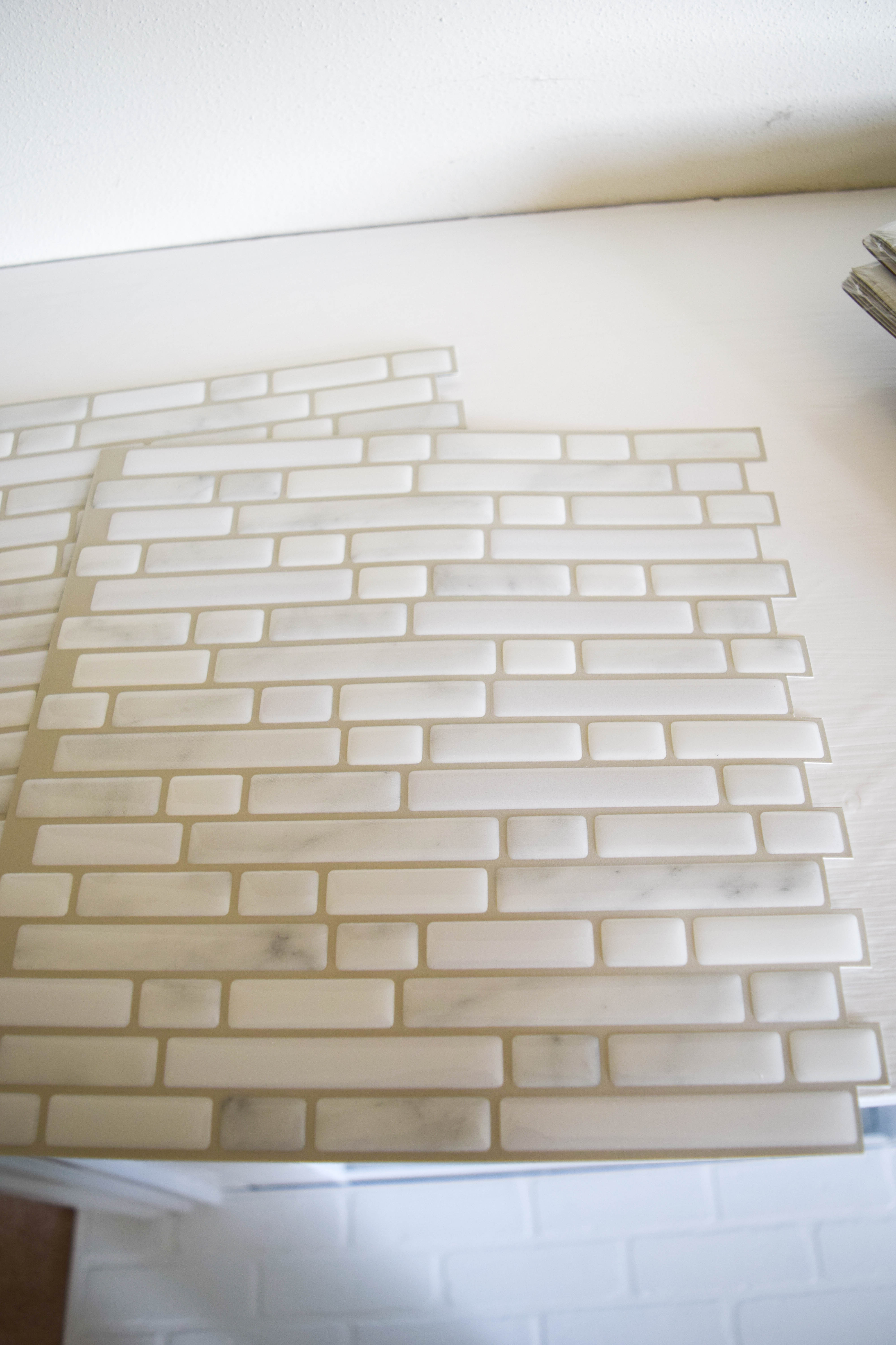They Also Looked And Felt Very Much Like A Tile Surface So I Get The Look Of Without All Work