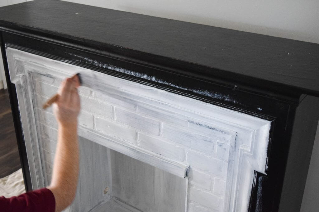 Easy peel and stick tile, fireplace surround makeover ...