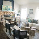Home tour – sharing the colorful, low cost & casual style