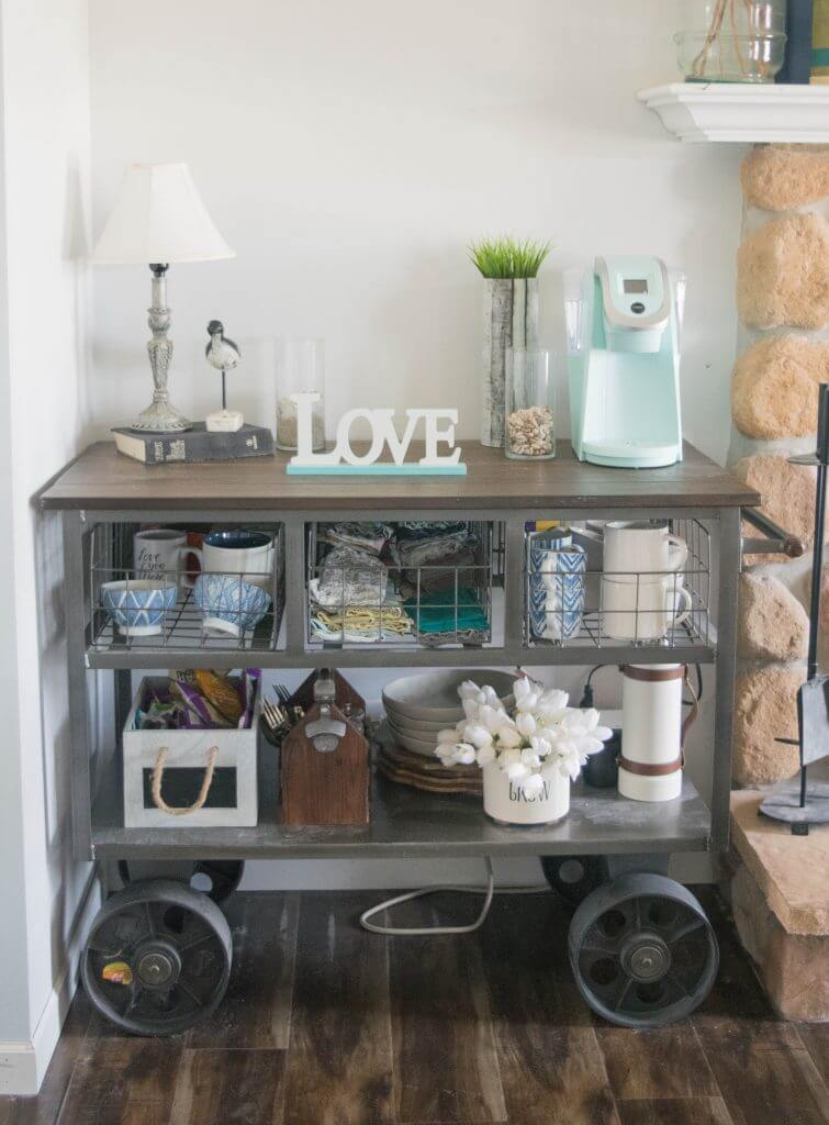 kitchen cart decorating ideas