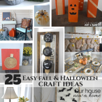 25 Easy to make fall & Halloween crafts!