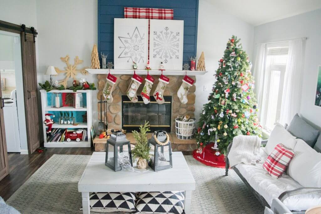 Cozy Simple Christmas Home Tour Our House Now A Home