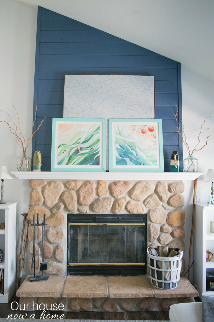 diy large fabric wall decor easy to layer art our house now a home