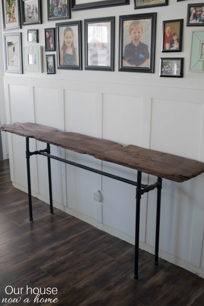Easy to make live edge table