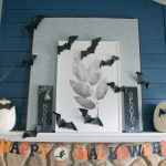 Easy to make DIY Halloween chalkboard signs
