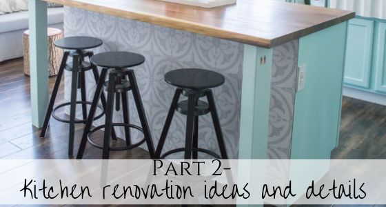 Kitchen renovation ideas and details, part 2