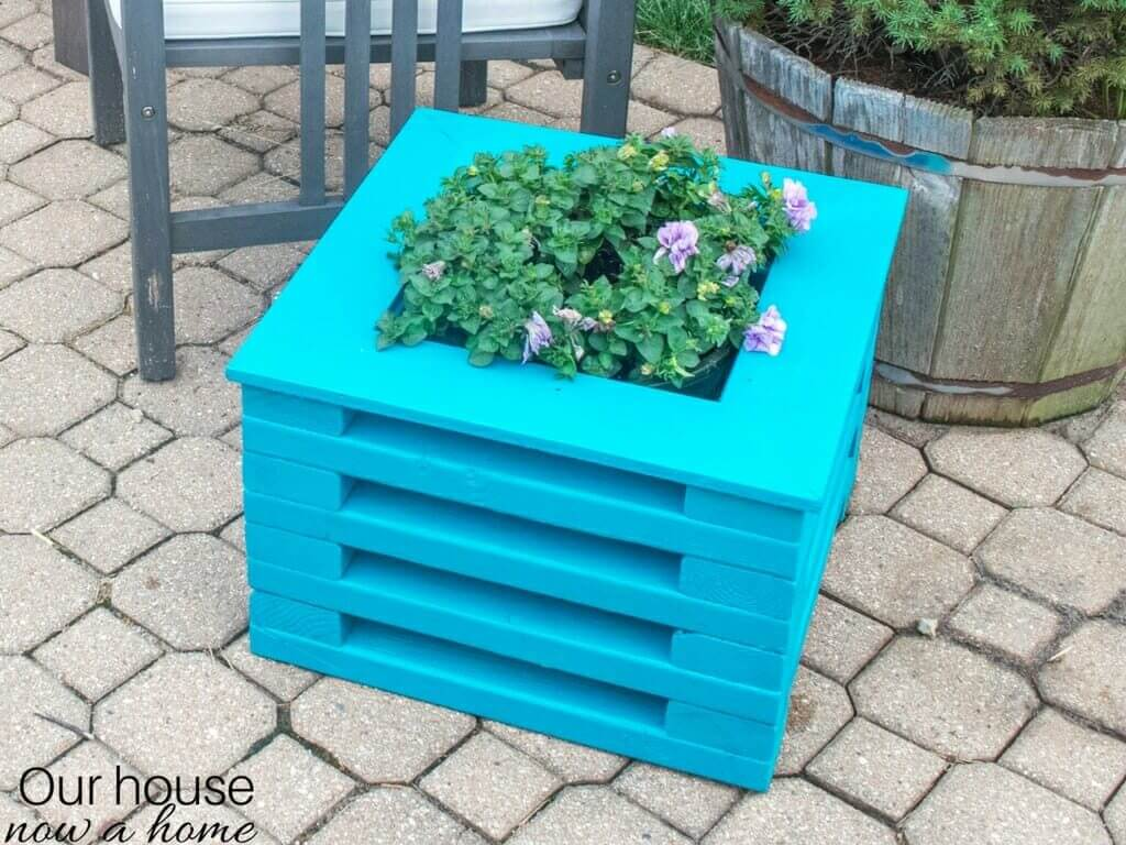 Simple to make wood planter