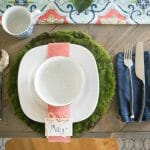 Easy to make place setting