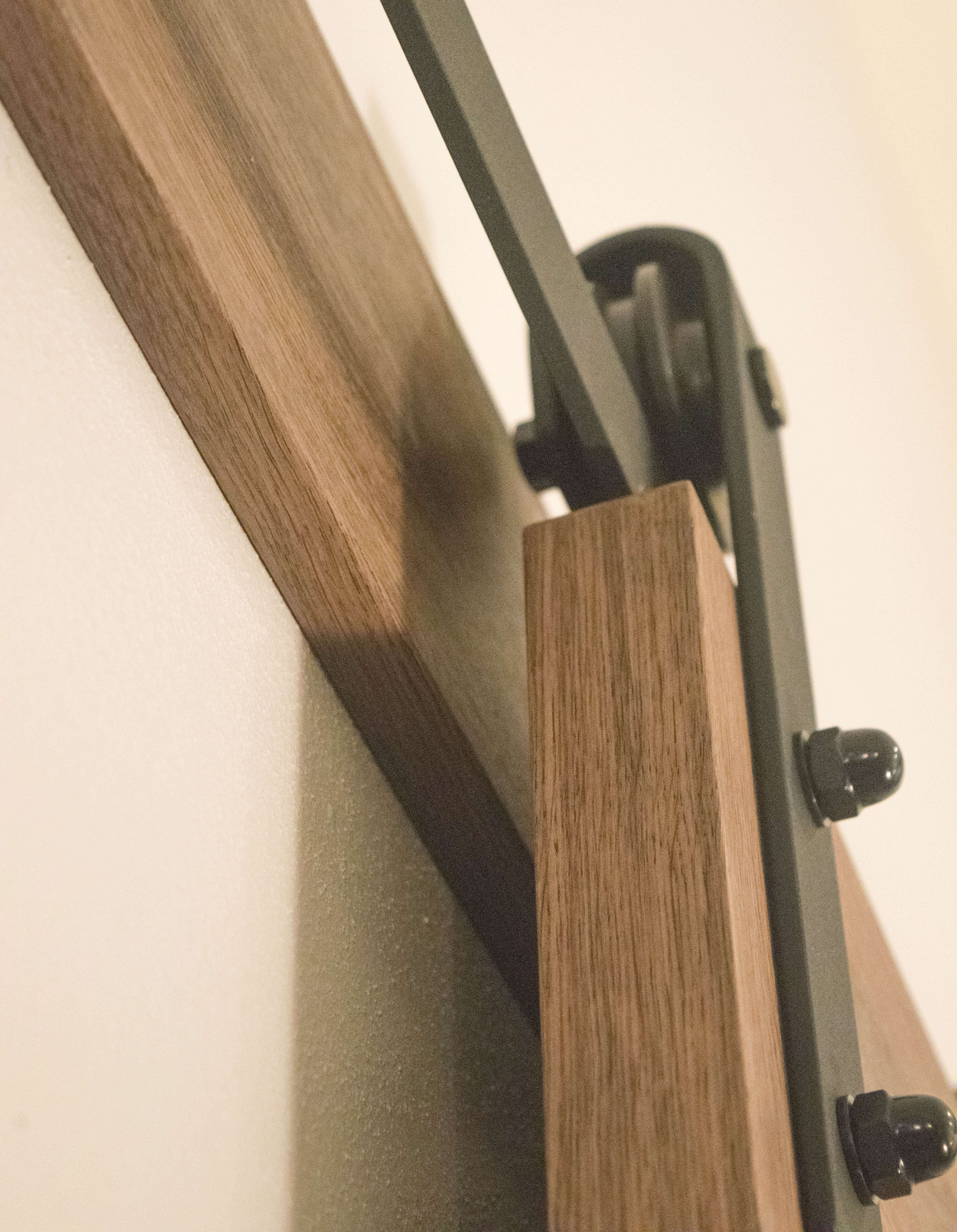 Easy To Install Barn Door Our House Now A Home