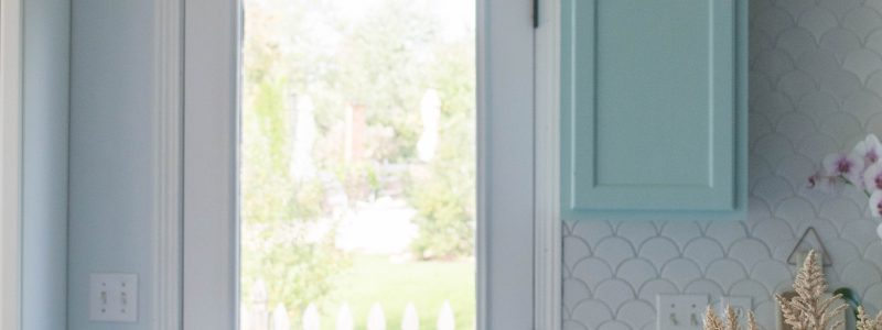 Easy exterior door makeover