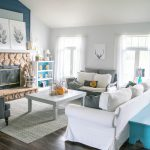 Light and bright fall home tour