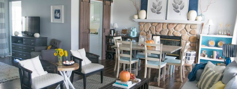 Fall home tour – rustic and bold simplicity