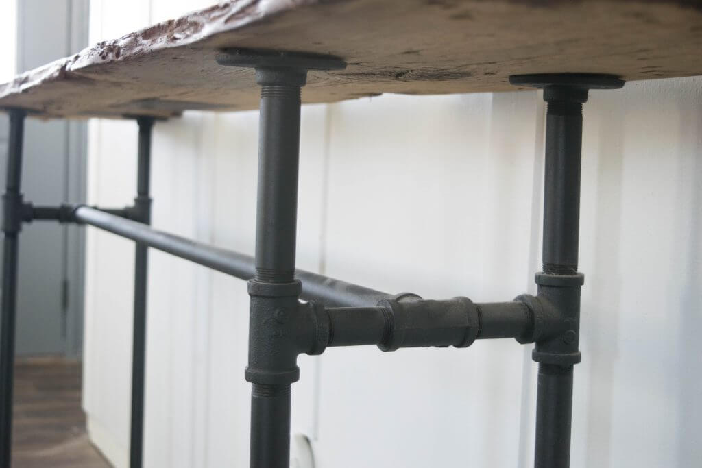 galvanized pipe table legs