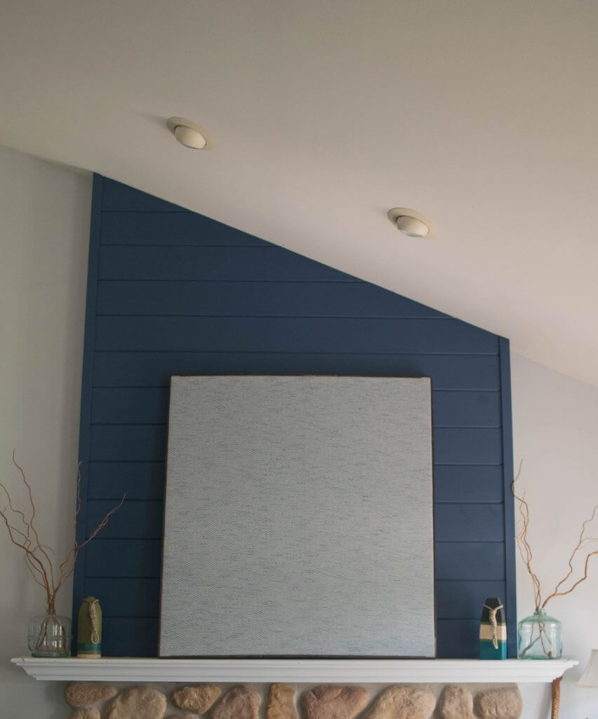 Simple Fabric Tall Wall Light: DIY Large Fabric Wall Decor, Easy To Layer Art • Our House