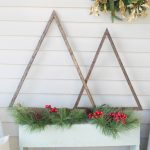 DIY wood Christmas tree craft