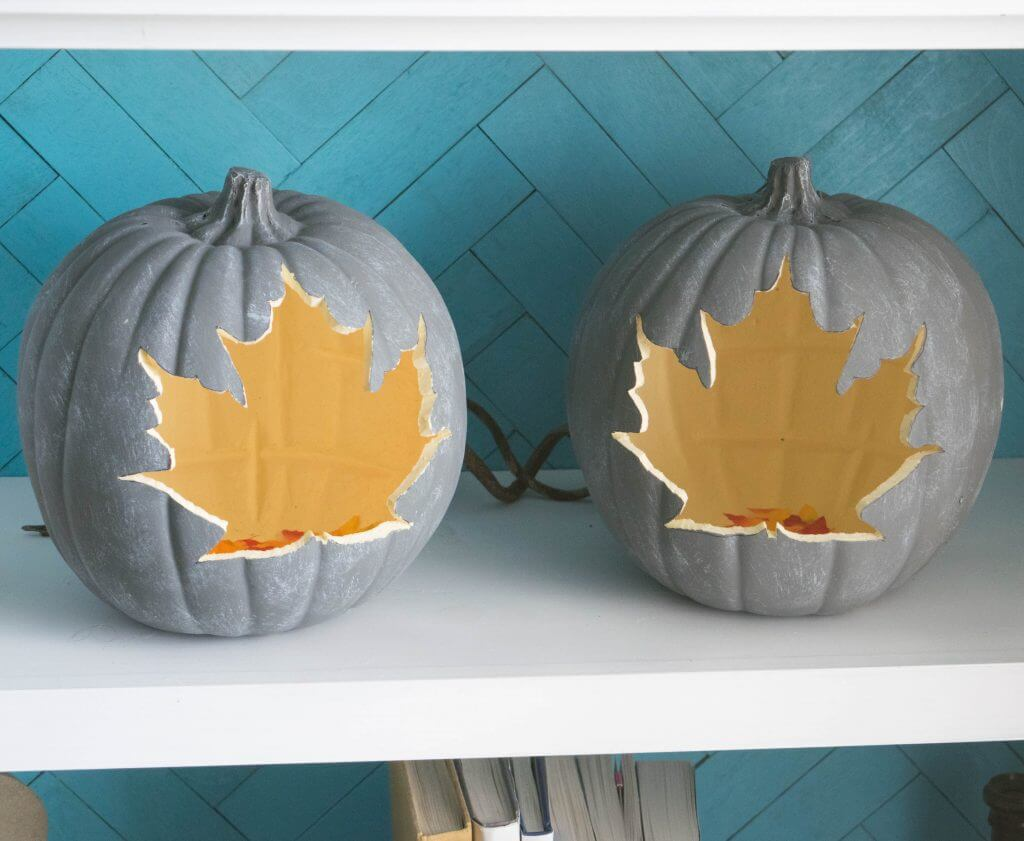 pumpkin leaf craft