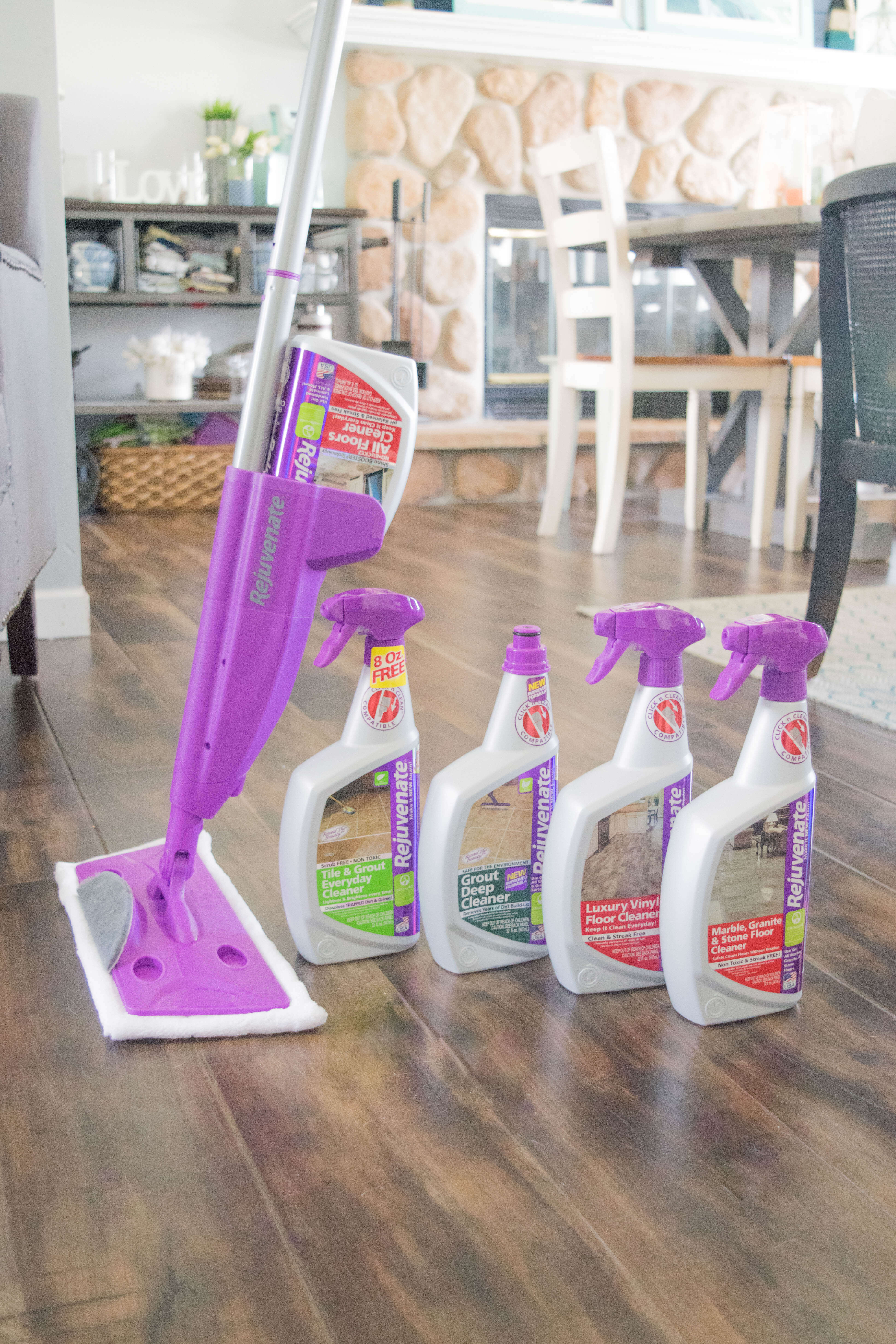 The Secret To Sparkling Wood And Tile Floors Our House