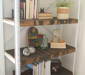 Metal storage shelf redo